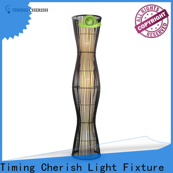 Timing Cherish cylinder adjustable floor lamp factory for home