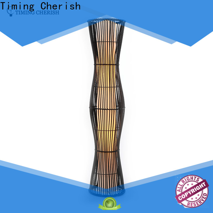 Timing Cherish shade floor standing lamps supply for home