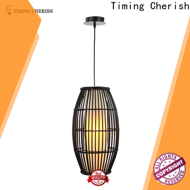 Timing Cherish himalayan wood pendant light suppliers for bar