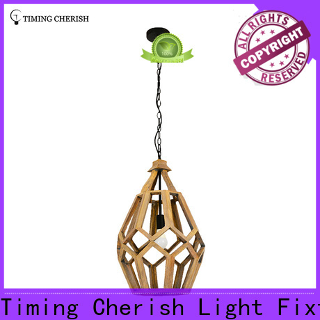 crafted timber pendant light polytope suppliers for home