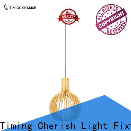 Timing Cherish weaving cotton lantern pendant light suppliers for shop