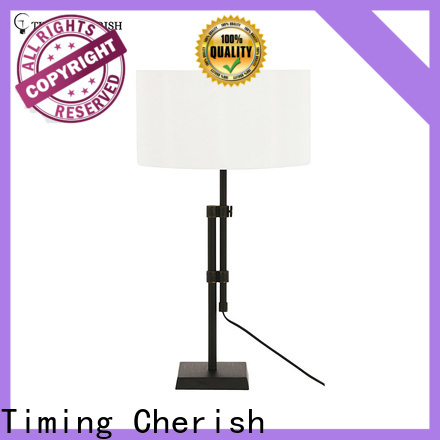 Timing Cherish nickel adjustable table lamp factory for bar