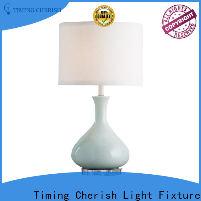 Timing Cherish wicker adjustable table lamp for sale for kitchen