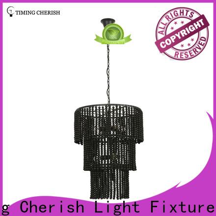 Timing Cherish natural fringe chandelier manufacturers for living room