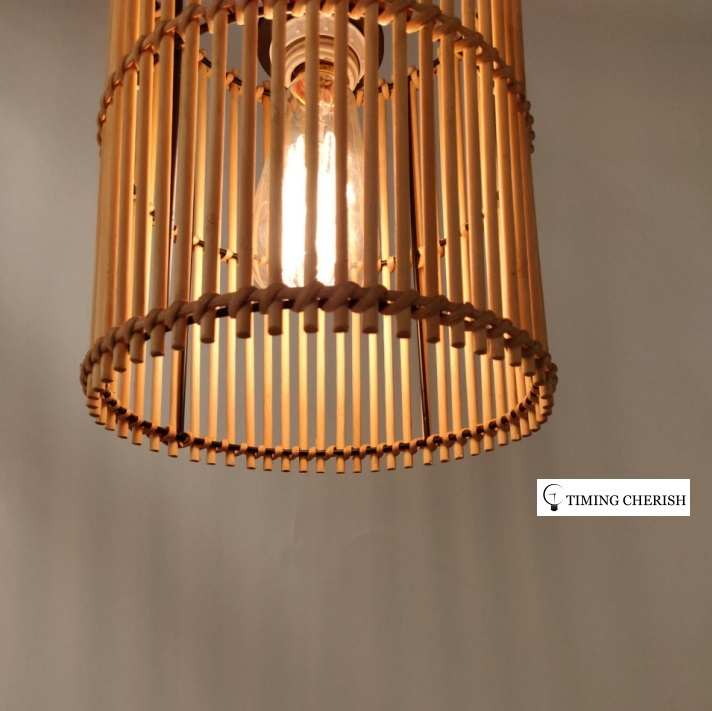 Lumi Hand Crafted Timeless Wicked Shade in Classic Natural 2021 Interior Design Trend WYP3279