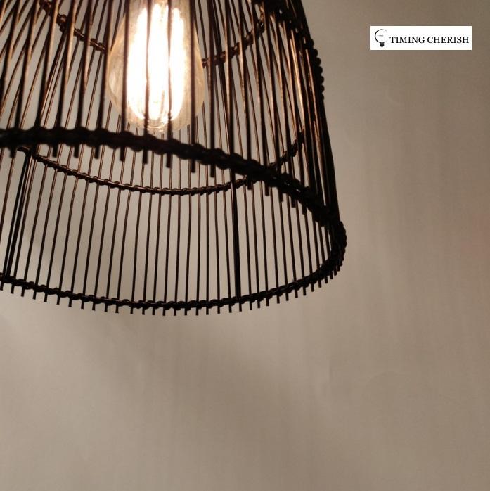 Yesco Basket Woven Bamboo Pendant Shade 2021 Interior Design Trend WYP3317