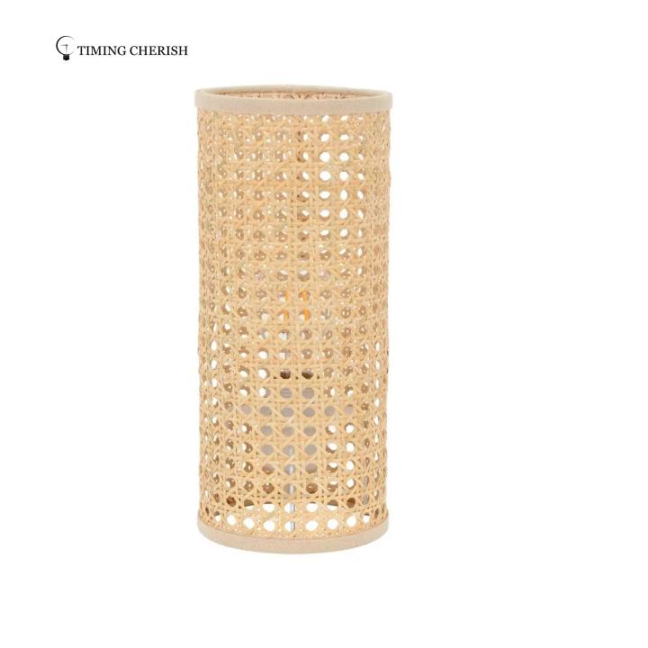 Axo Woven Rattan Table Lamp Lighting trends