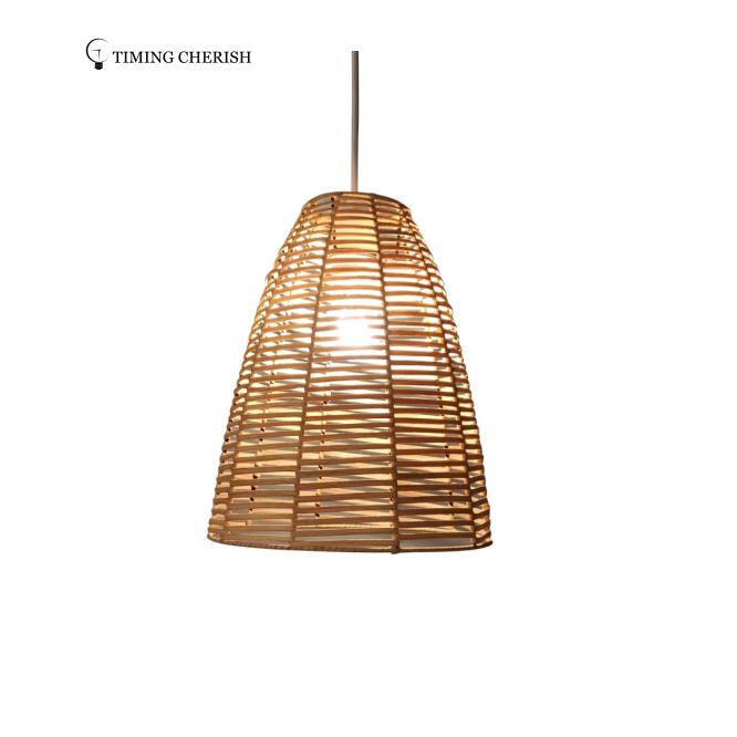 Insta Handwoven Natural Rattan Hanging Suspension Pendant Light 2021 Lighting Trends Lamp Factory Light Manufacturer