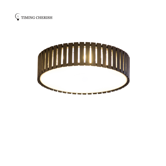 Seoul Decorative Bamboo Handmade Ceiling Light lamp Shade Natural Light Factory