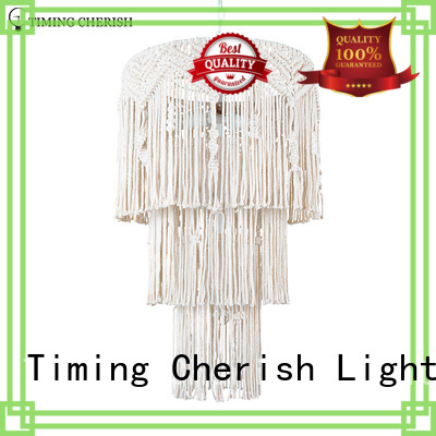 Timing Cherish octave whisper leather chandelier factory for shop