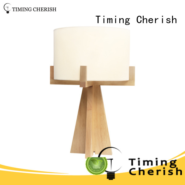 Timing Cherish natural end table lamps chic for living room