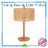 Timing Cherish natural bedside table lights manufacturers for hotel