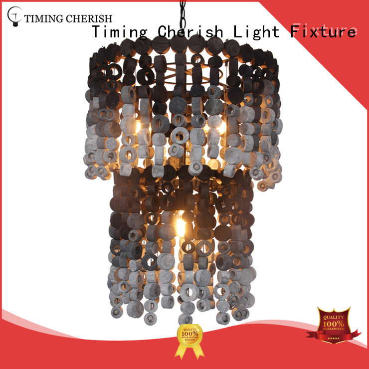 wash natural Timing Cherish Brand entryway chandelier factory