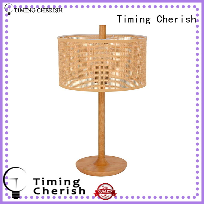 Timing Cherish vintage tripod table lamp head for hotel