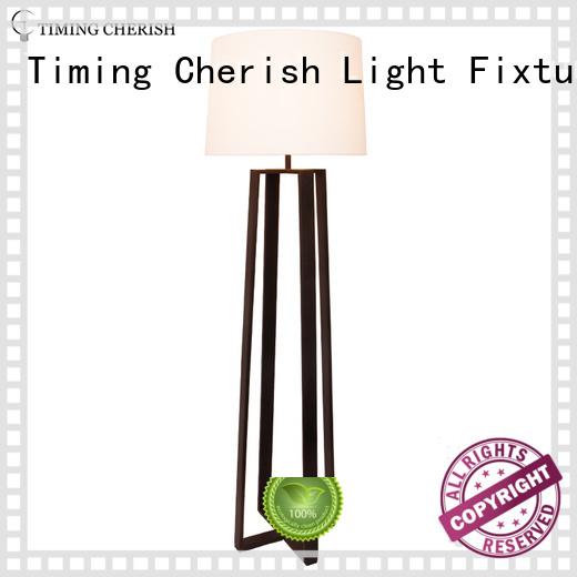 Timing Cherish modern rattan floor lamp company for living room