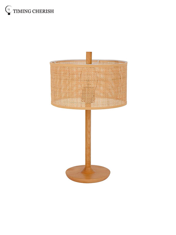 Timing Cherish rattan side table lamps suppliers for living room-2
