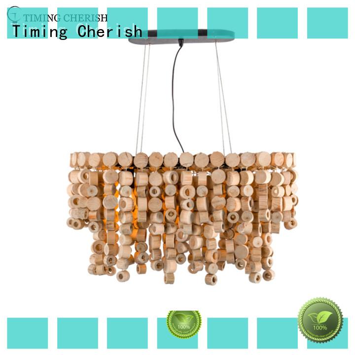 pendant wood bead chandelier medium company for living room