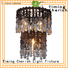 Timing Cherish draped chandelier lamp for business for hotel