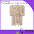 Timing Cherish fringed chandelier light manufacturers for home