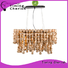 Timing Cherish natural chandelier light for business for hotel