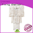 Timing Cherish draped wood bead chandelier factory for home