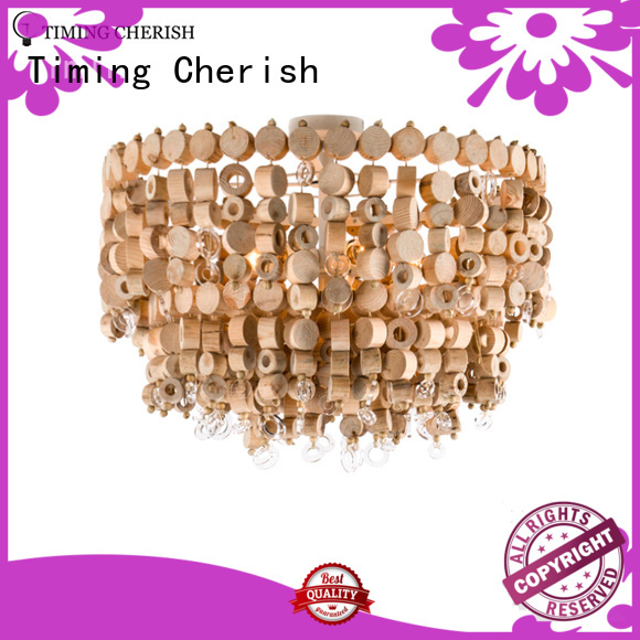 Timing Cherish natural Ceiling Lights suppliers for hall