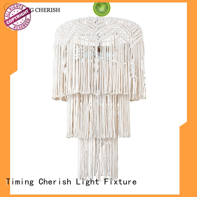 Timing Cherish hanging pendant chandelier company for hotel