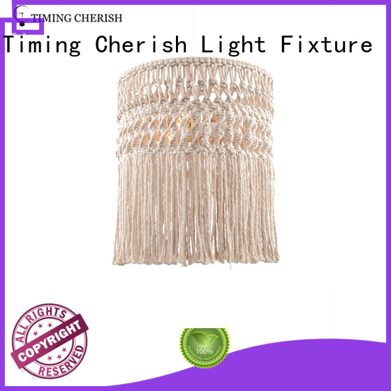 crafted timber pendant light tall supplier for hotel