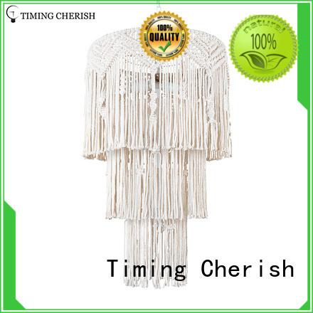 Timing Cherish octave fringe chandelier baikal for living room