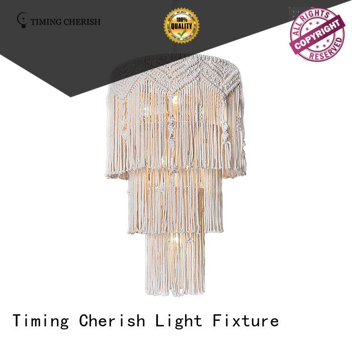 Timing Cherish grey hanging chandelier supply for bar