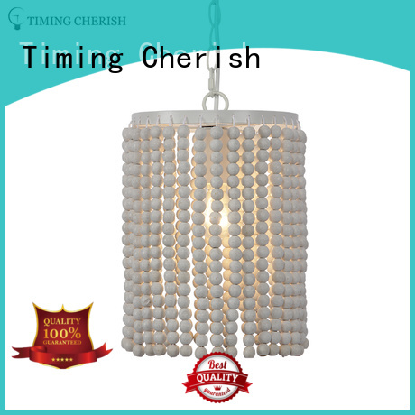 weaving cotton hanging pendant lights fixture supply for hotel