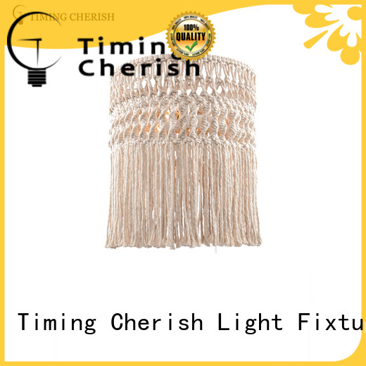Timing Cherish rattan hanging pendant lights for business for living room