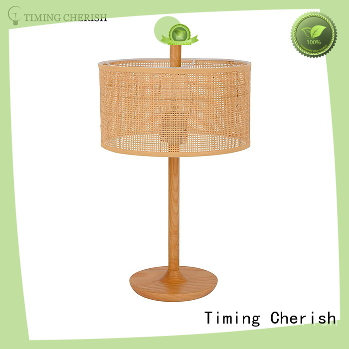 Timing Cherish cylinder bedside table lights suppliers for living room