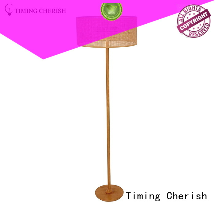 Timing Cherish h1680mm metal floor lamp supply for hotel