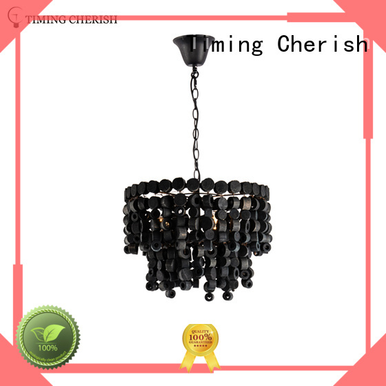 Quality Timing Cherish Brand entryway chandelier wooden chandelier