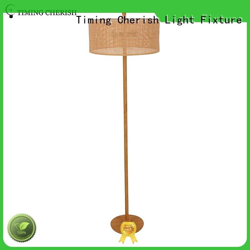 Timing Cherish lamp fabric floor lamp factory for living room