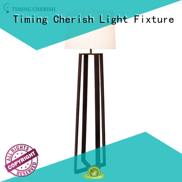 Timing Cherish classic wicker floor lamp for sale for home