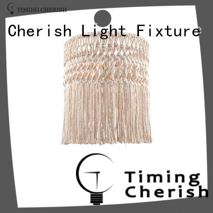 Timing Cherish wood pendant light fixtures for business for hotel