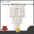 Timing Cherish modern wood bead chandelier suppliers for bar