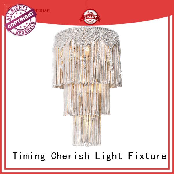 Timing Cherish modern chandelier lamp supply for hotel
