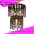 Timing Cherish draped beaded pendant light supply for hotel