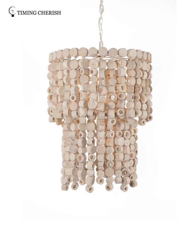 Timing Cherish fringed chandelier light manufacturers for home-2