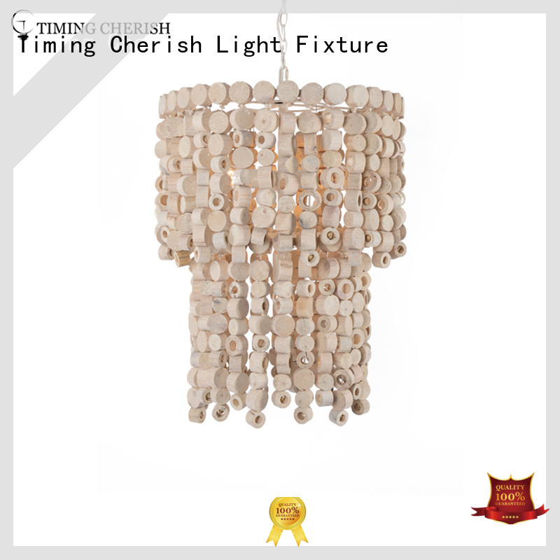 Timing Cherish natural modern crystal chandelier round for bar