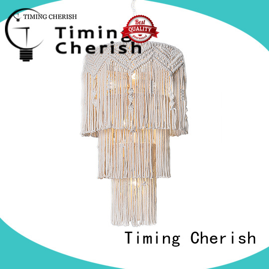 Timing Cherish natural hanging chandelier manufacturers for living room