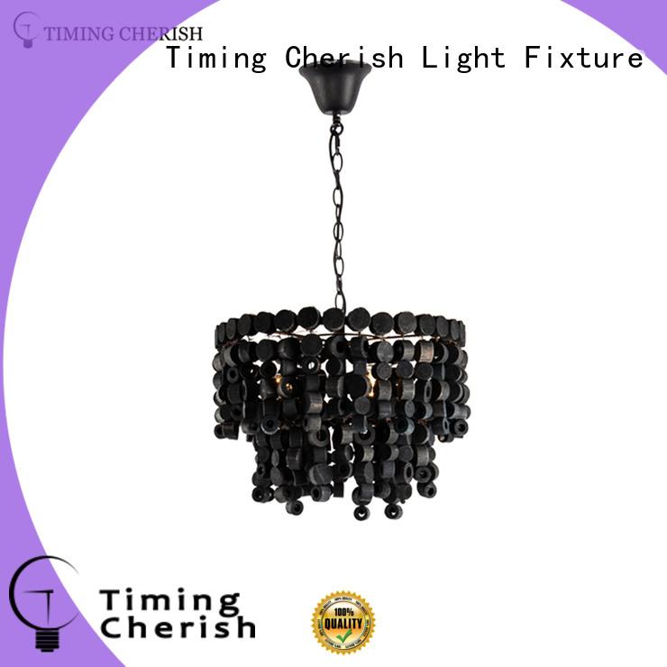 Timing Cherish weaving beaded pendant light suppliers for bar
