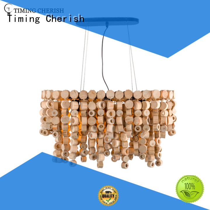 large wood bead chandelier greywhite suppliers for bar